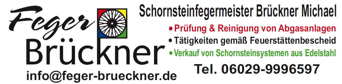 Schornsteinfegermeister Brückner
