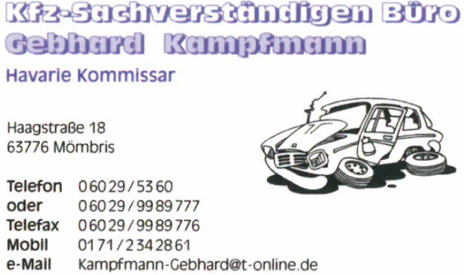 KFZ-Sachverständigenbüro Gebhard Kampfmann