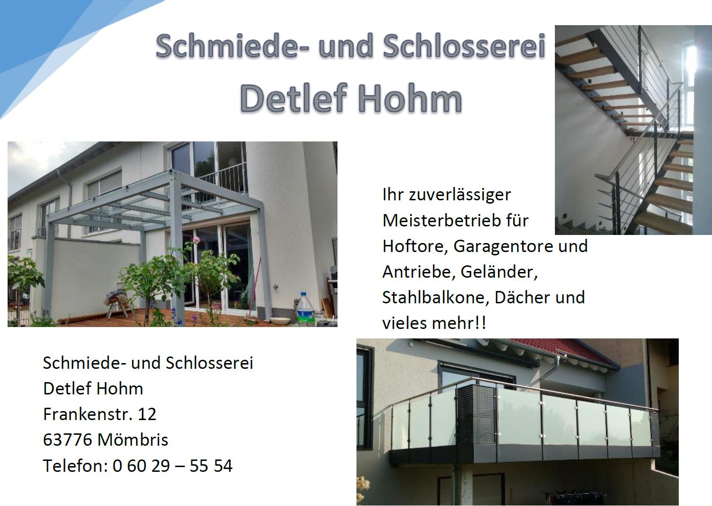 Schmiede- und Schlosserei Detlef Hohm
