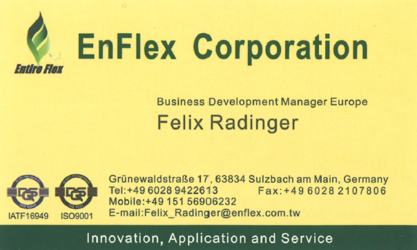 EnFlex Corporation Radinger