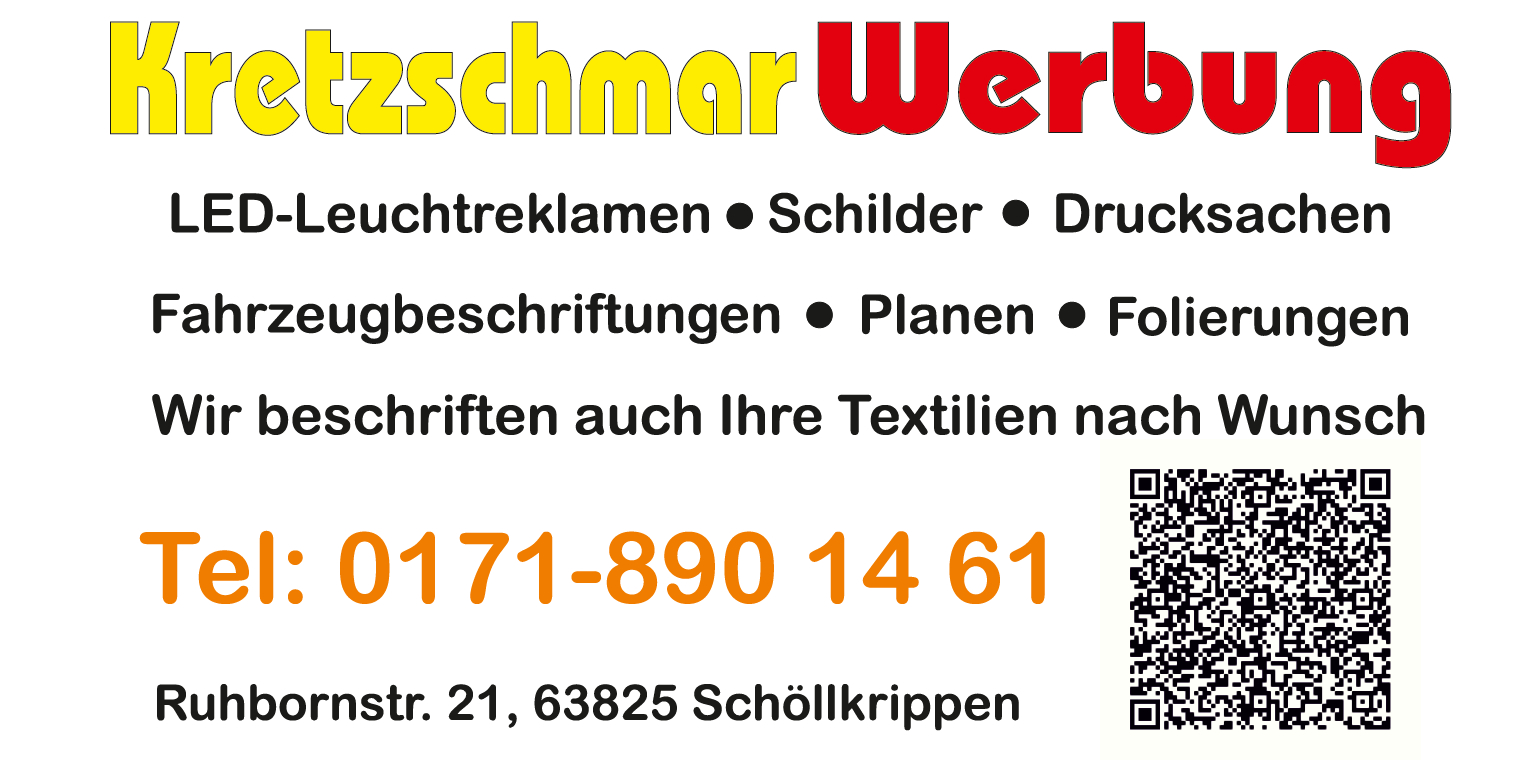 Kretzschmar Werbung